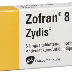 pack of antiemetic pills from Zofran brandname